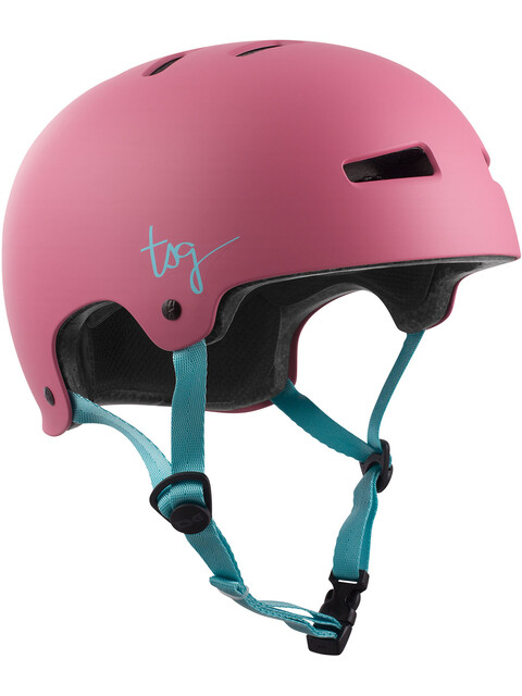 TSG Evolution Solid Color Cykelhjälm Dam pink